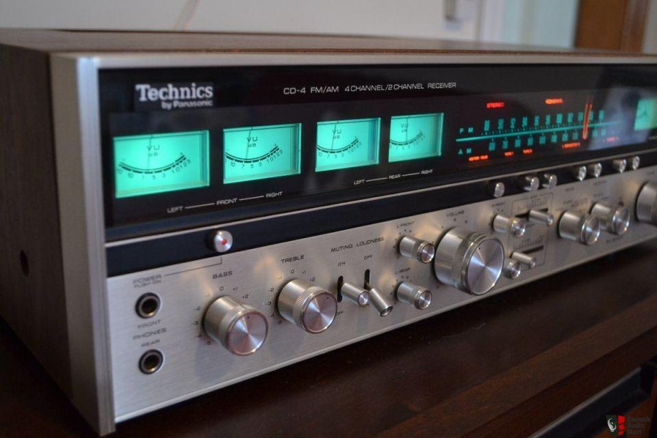 1301443 technics sa 8000x amfm receiver quadraphonic