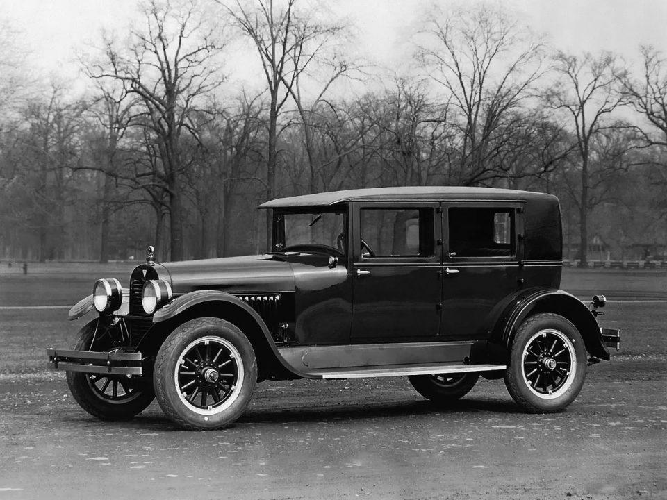 1926 Hudson Super Six Brougham