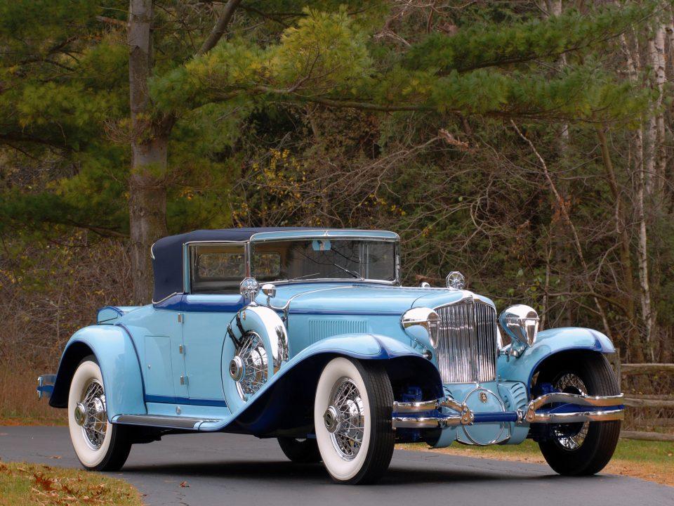 1929 Cord L 29 Phaeton Blue Classic Car