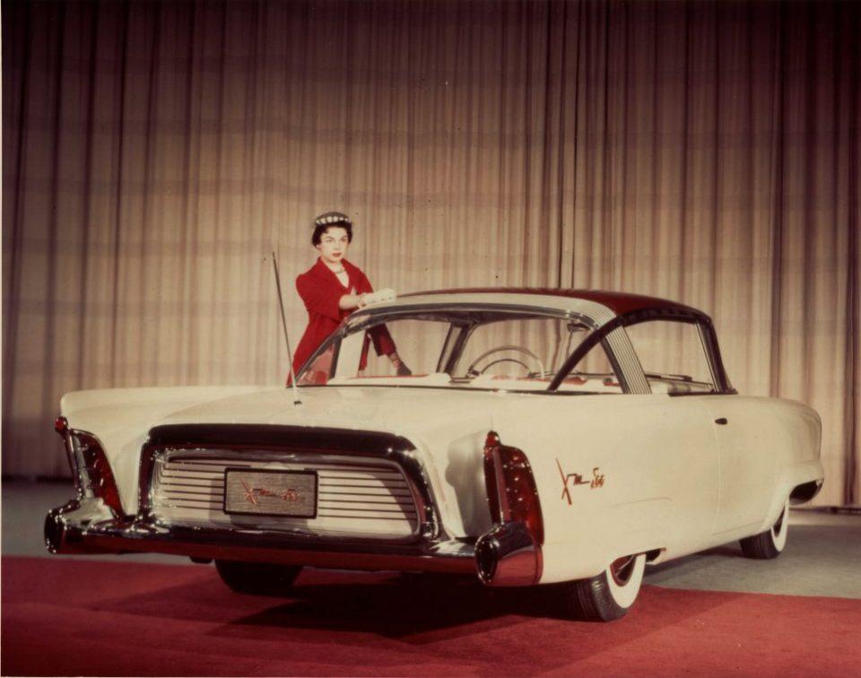 1954 XM 800 rear view full