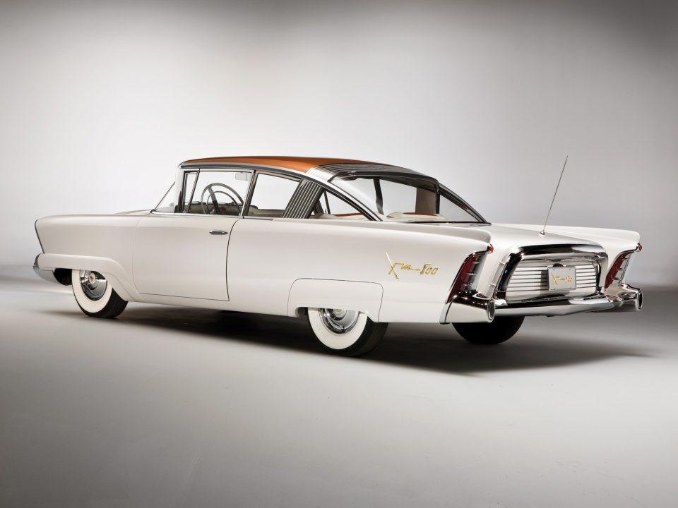 1954 XM 800 rear view