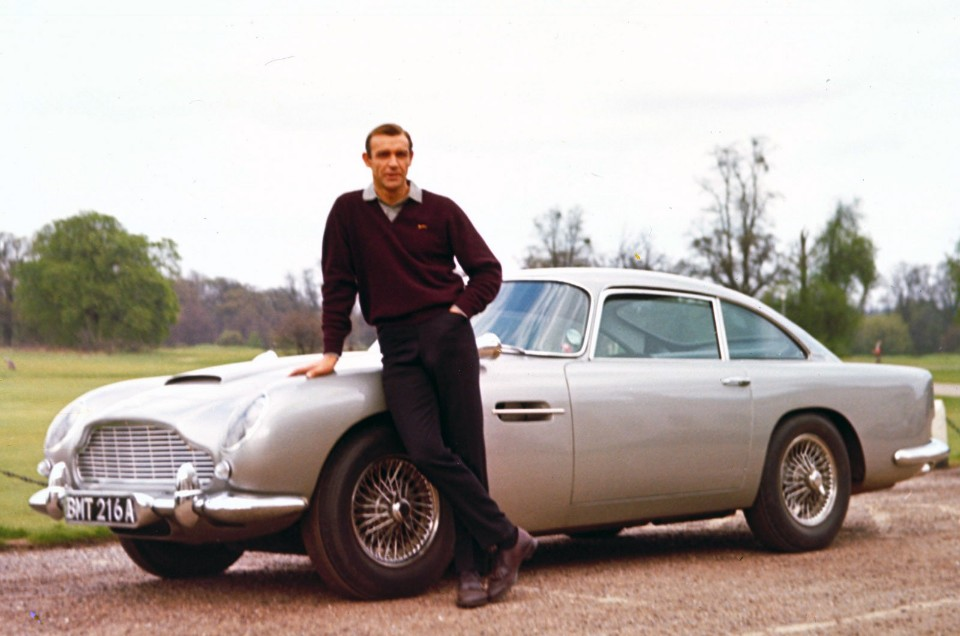 1963 Aston Martin DB5 as seen in various James Bond movies