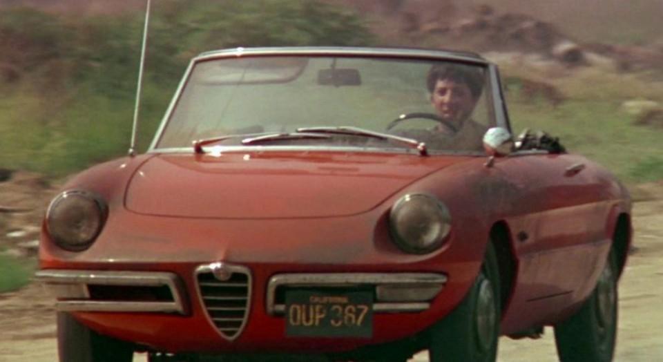 1966 Alfa Romeo 1600 Spider Duetto as seen in The Graduate