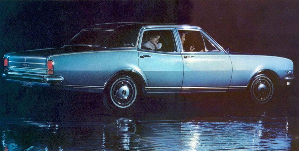 1968 HK Holden Brougham
