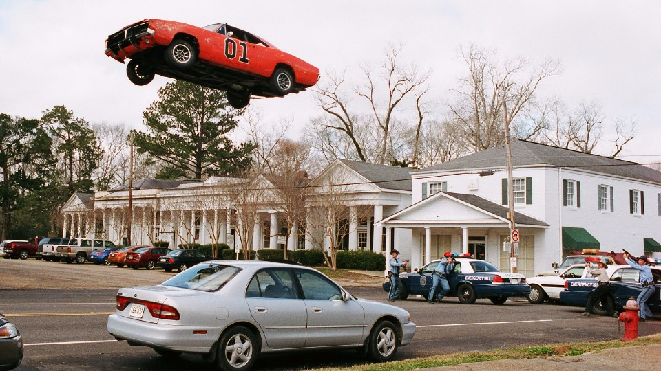 1969 Dodge Charger General Lee DOH Jump Police Cars