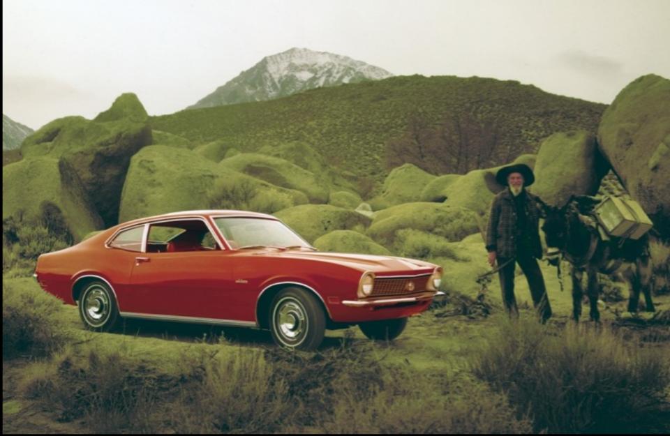 1969 Ford Maverick coupe