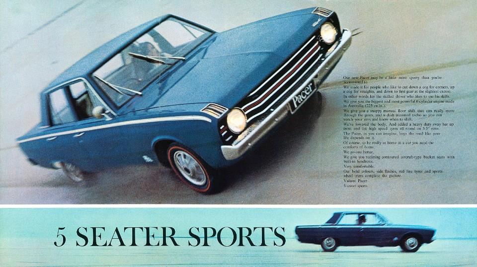 1969 Valiant VF Pacer 225 3