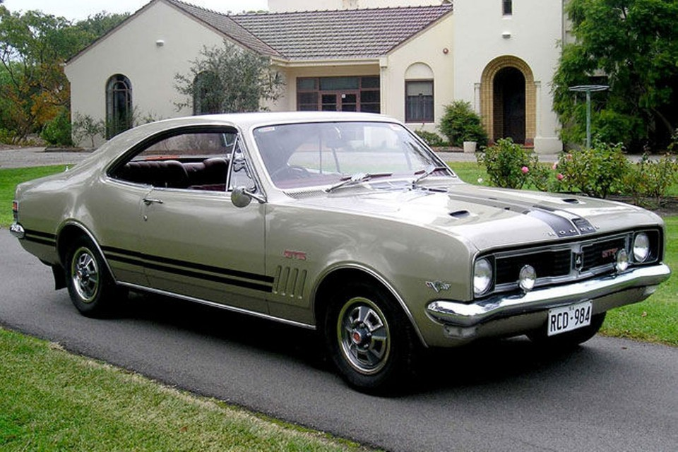 1969 holden ht monaro gts 350 coupe