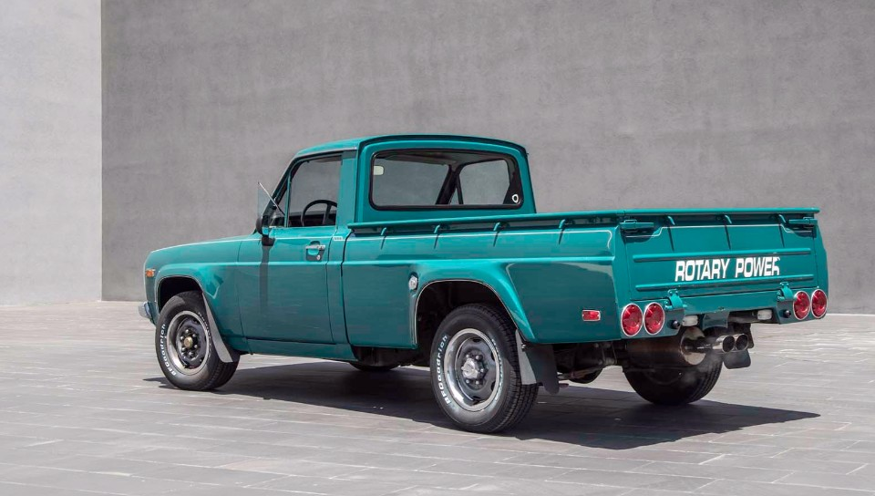 1978 Mazda REPU rear three quarter