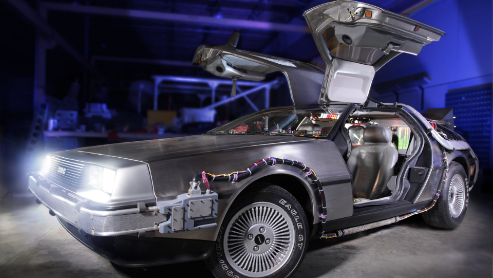 1981 DeLorean DMC 12 as seen in the Back to the Future trilogy