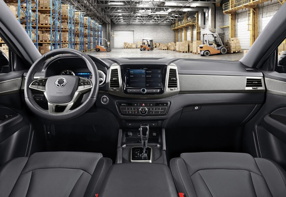 2018 SsangYong Musso 10