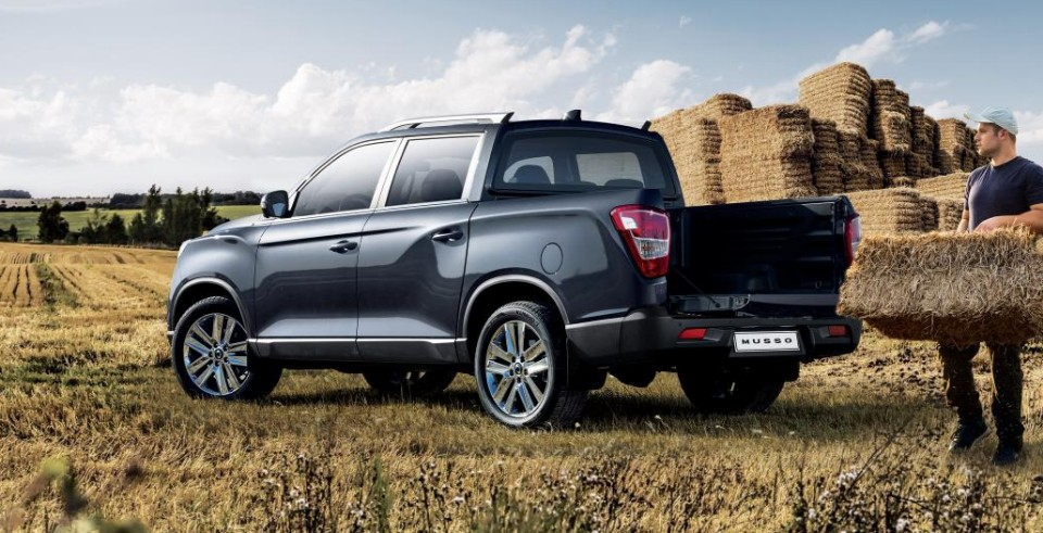 2018 SsangYong Musso 3