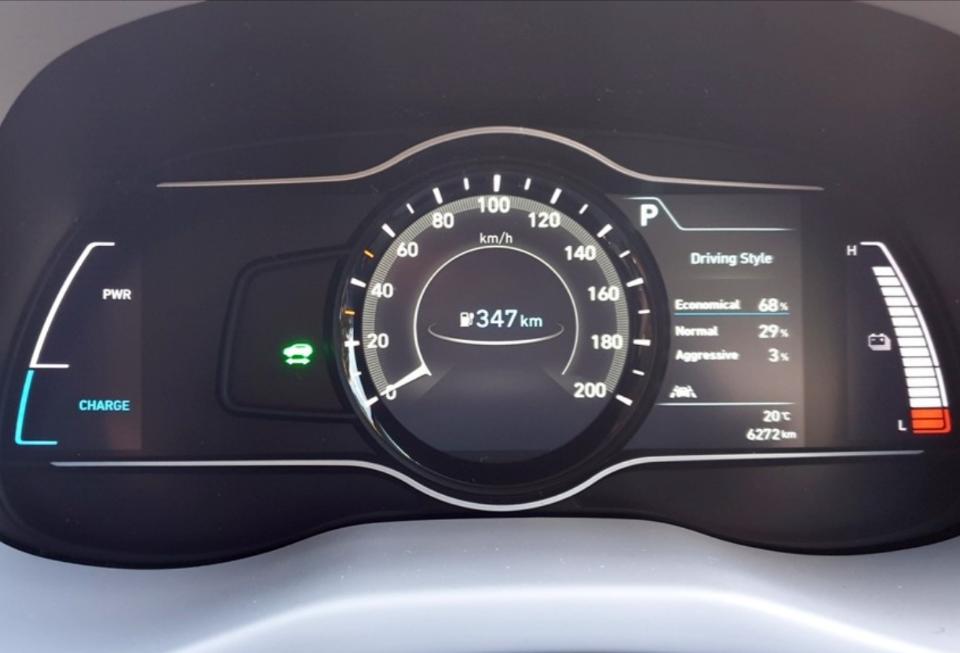 2019 Hyundai Kona Highlander Electric dash 03