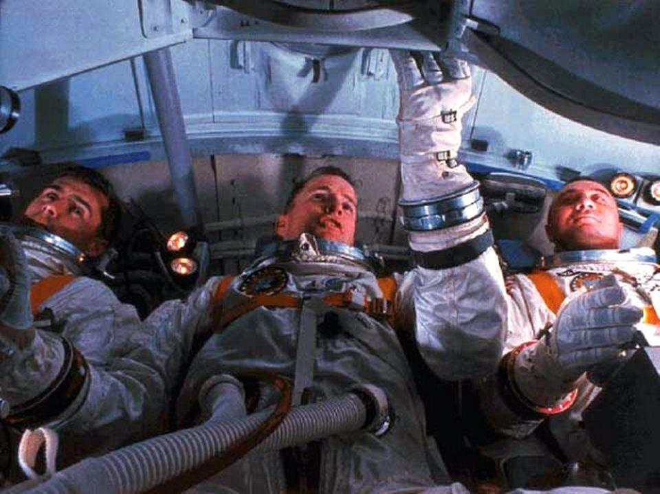 Apollo 1 Chaffee White Grissom