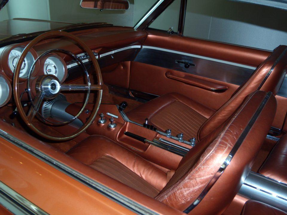 Chrysler Turbine interior