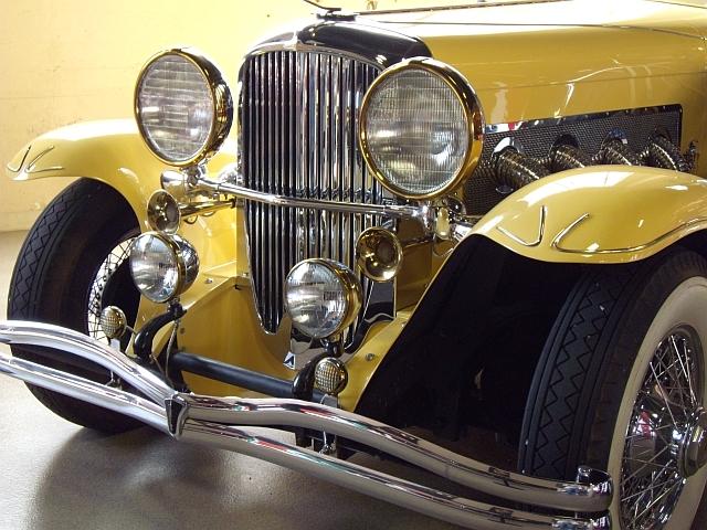 Duesenberg Model J replica from The Great Gatsby