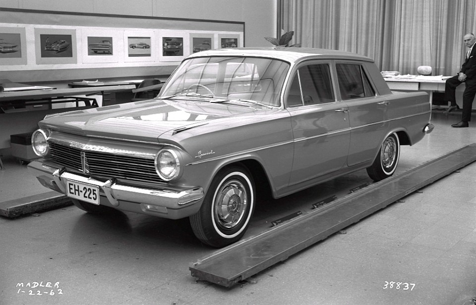 EH Holden styling prototypes late 1961 early 1962 2
