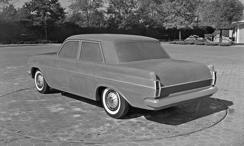EH Holden styling prototypes late 1961 early 1962 3