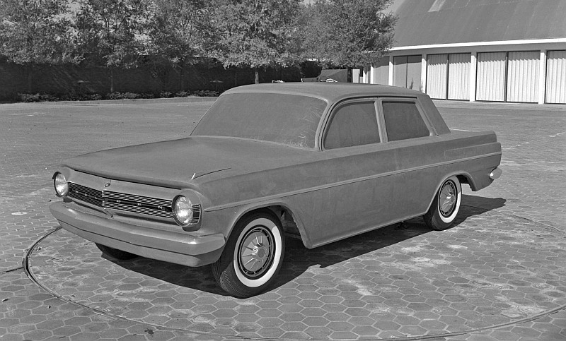 EH Holden styling prototypes late 1961 early 1962 4