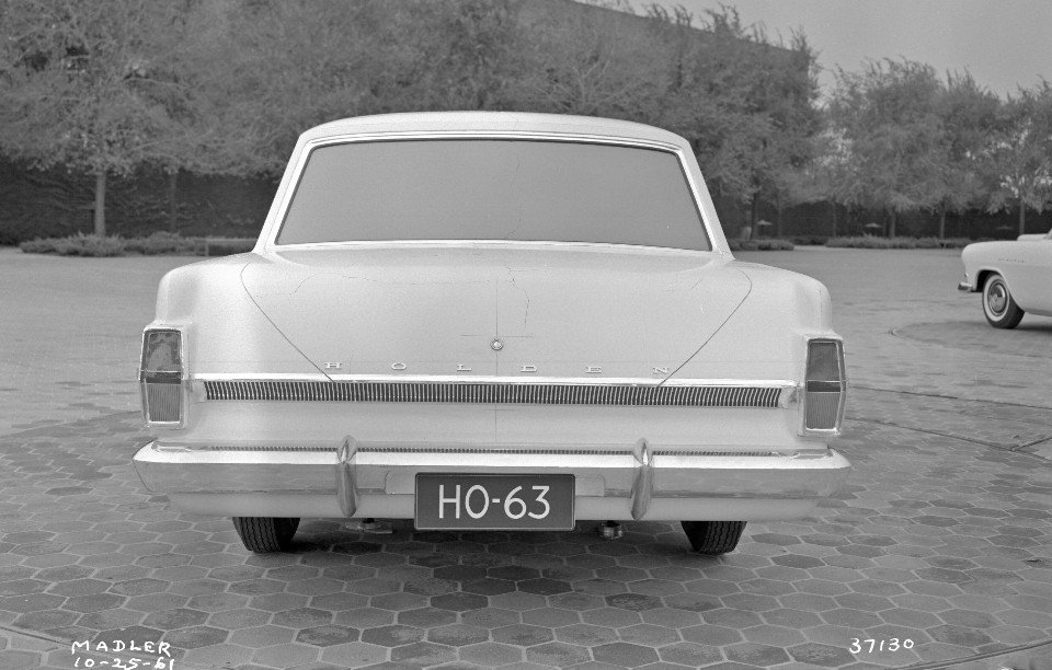 EH Holden styling prototypes late 1961 early 1962 6