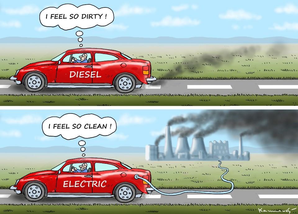 EV cartoon