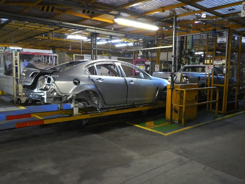Taking the last Holden factory tour