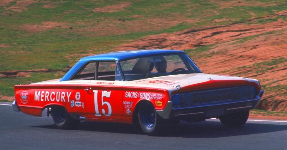 Parnelli Jones at Riverside in 1965
