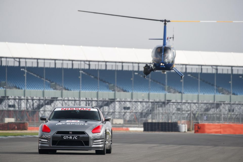 Remote controlled Nissan GT-R a world first