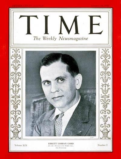 Time Cover E L Cord 1932