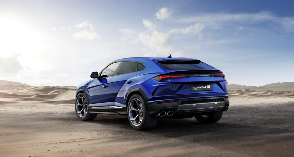 """Lambo's new SUV a """"DAB"""" touch"""