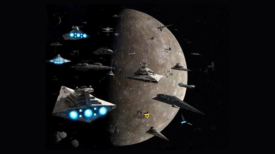 battleships at the moon
