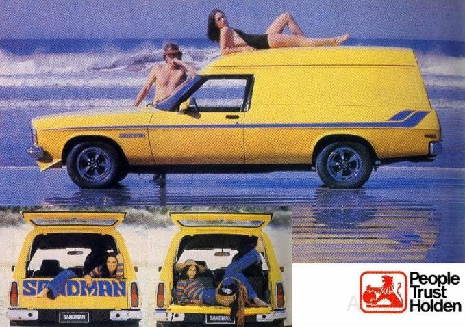 holden sandman 70s