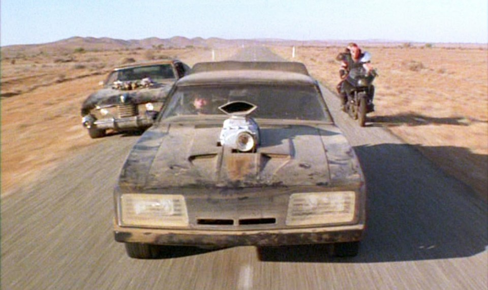 mad max the road warrior car chase 1 by maltian d7ts96l