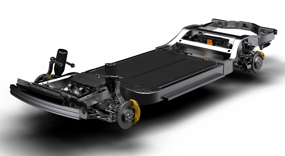 rivian skateboard chassis