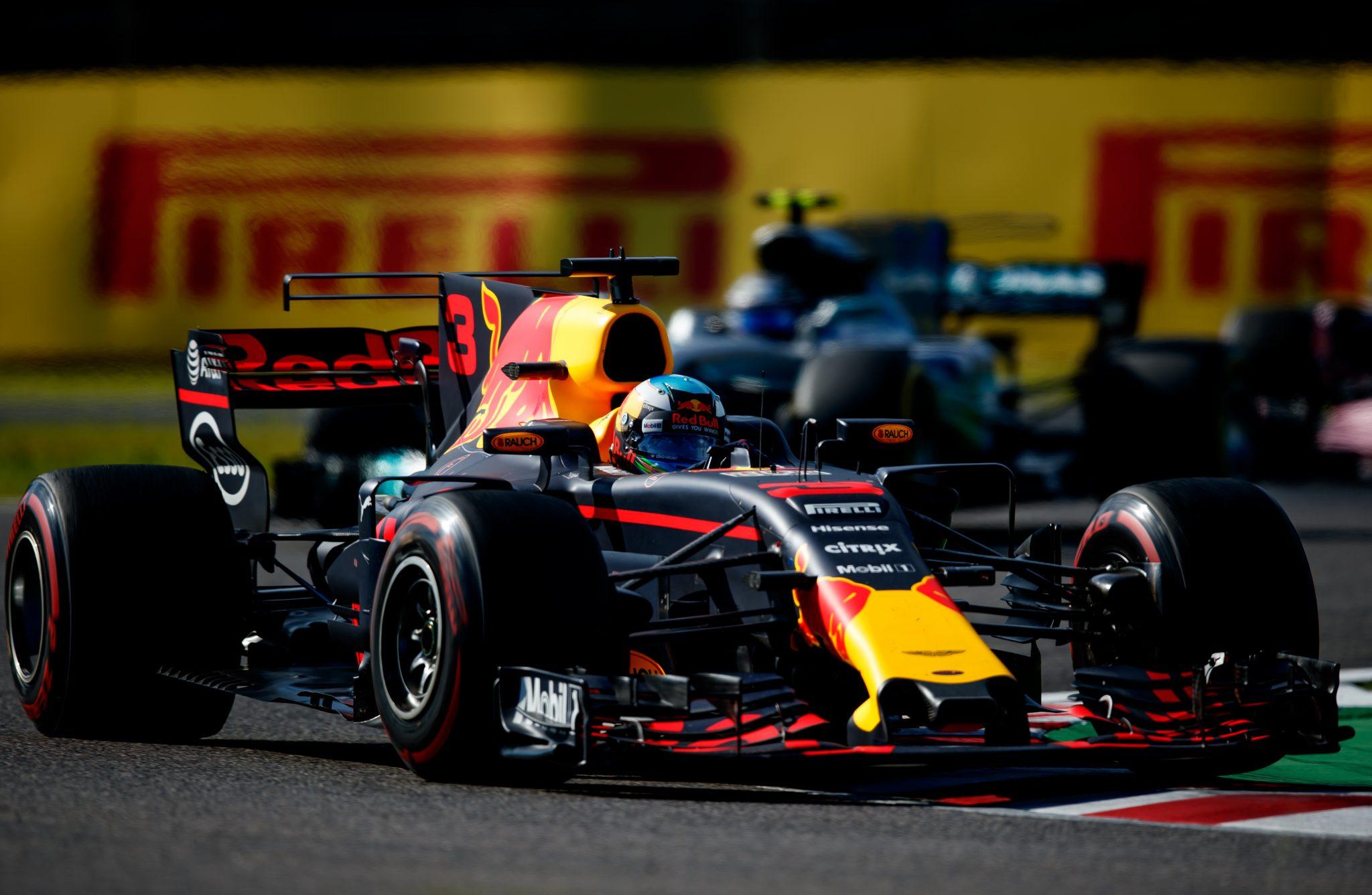 Ricciardo on the podium again (and again)
