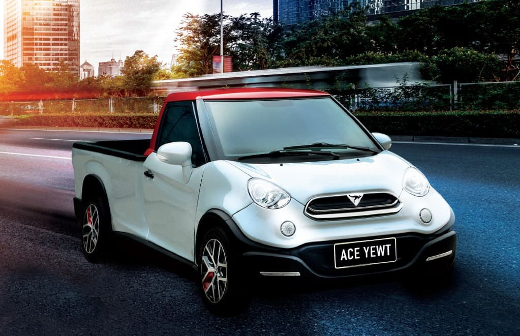 ACE Yewt electric vehicle