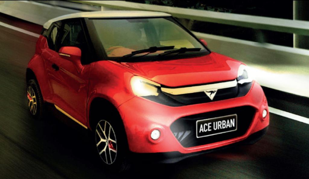 ACE urban electric vehicle