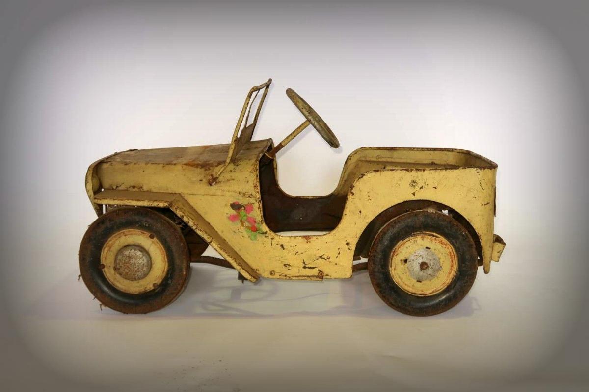 1950s Jeep pedal car