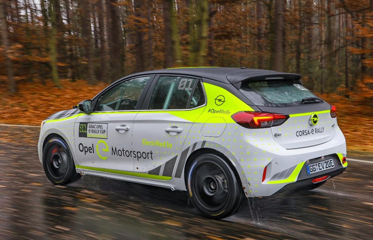Opel electric rally car 03