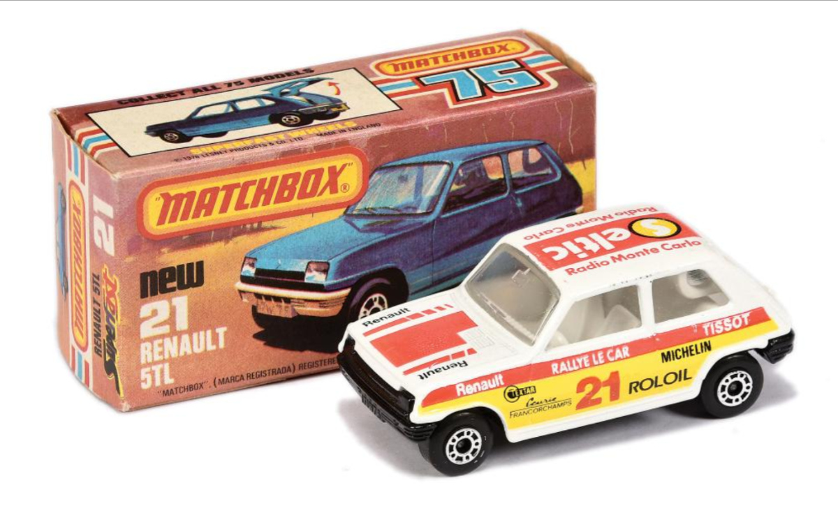 Three auctions for massive Matchbox collection
