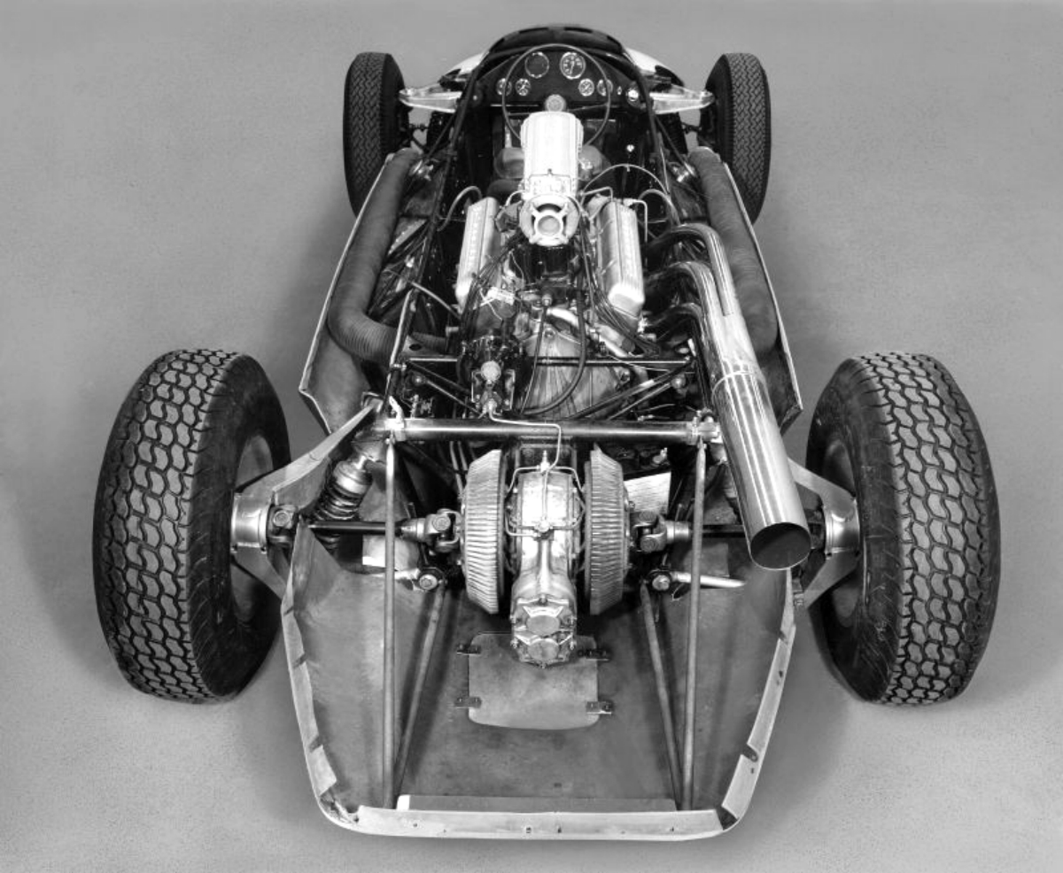 CERV 1 was really an INDY style race car 1