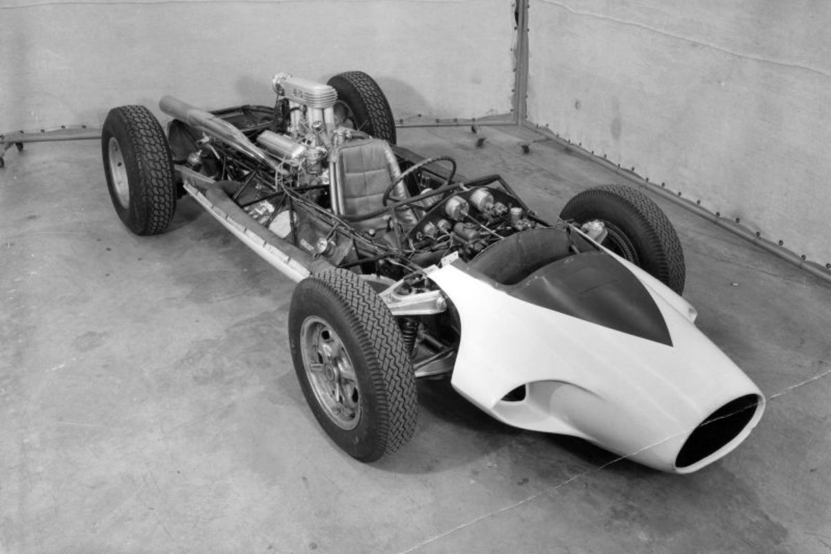 CERV 1 was really an INDY style race car 2
