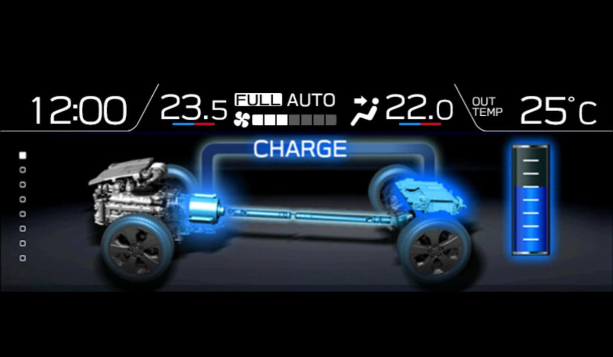 subaru hybrids 04