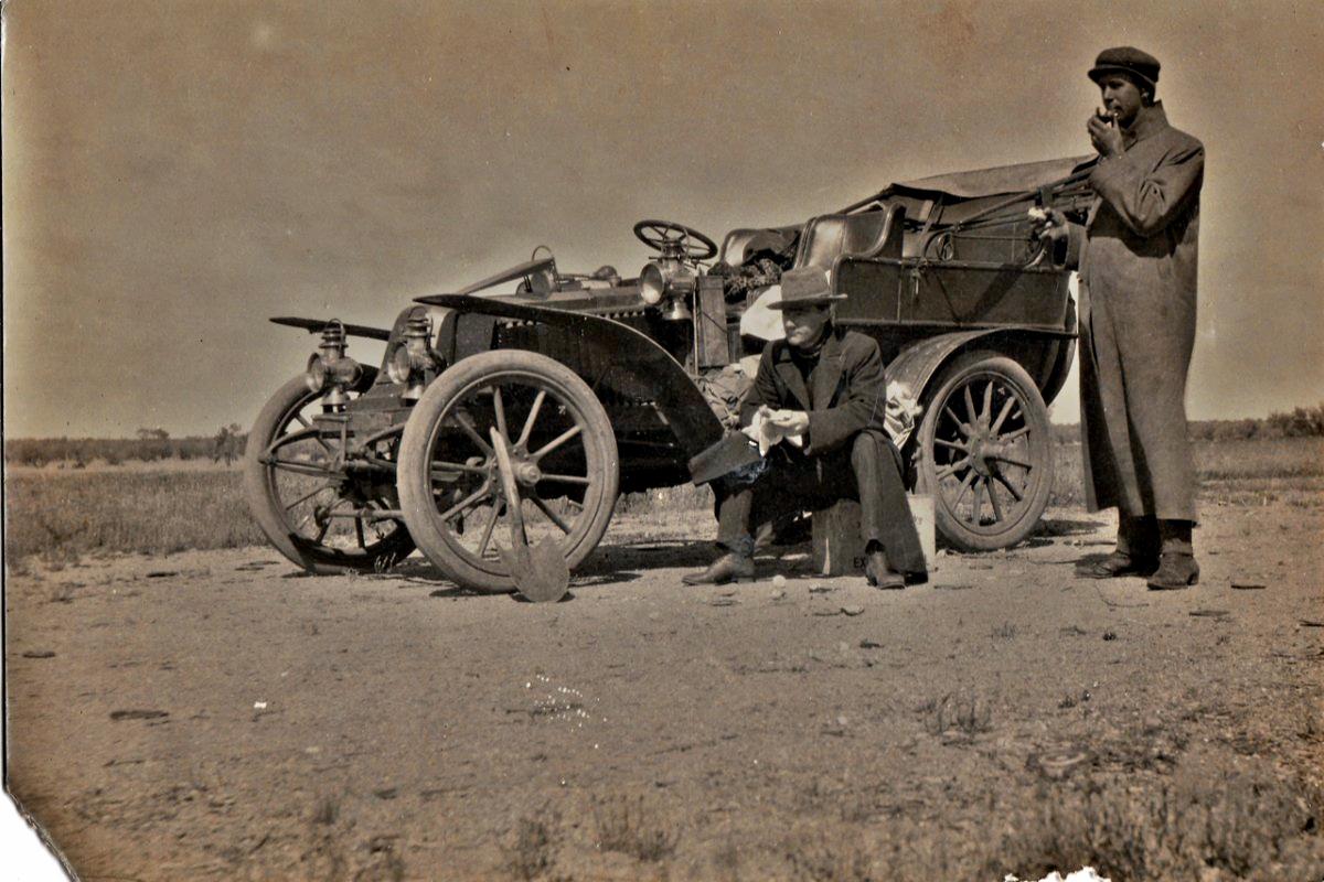 Claude Deane Renault 1904 1905