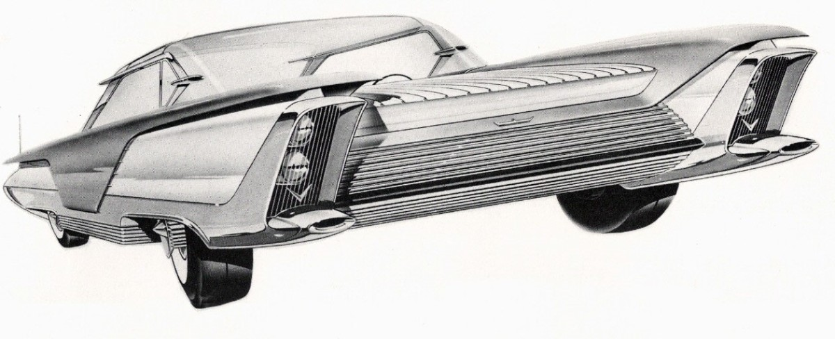 1958 Kaiser Aluminium concept car by Hershey