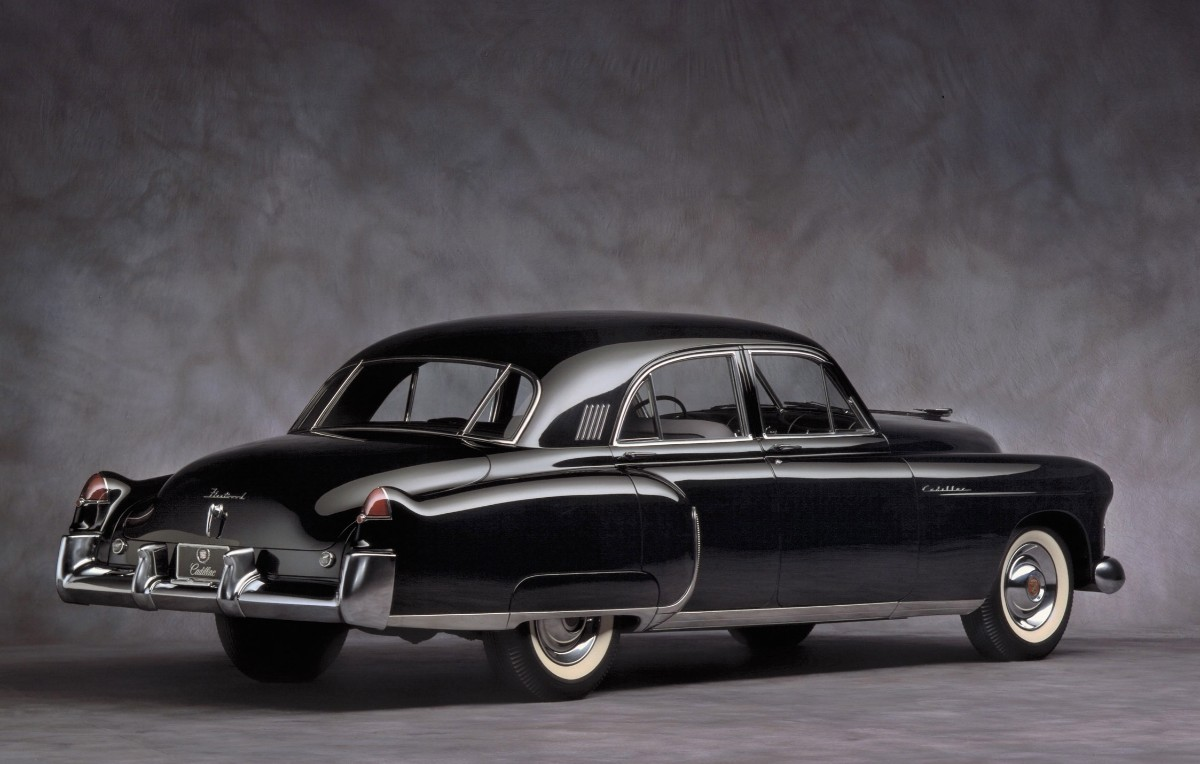 Hershey designed 1948 Cadillac with fins