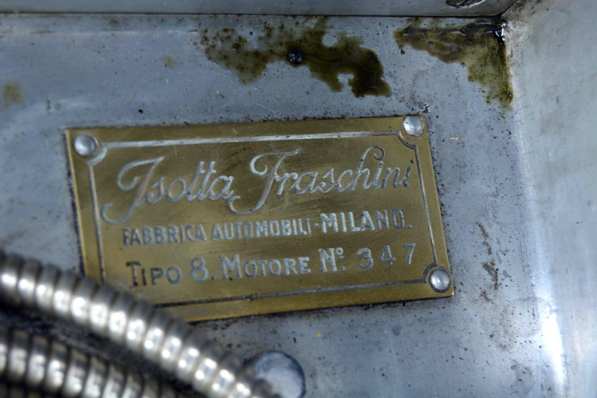 1922 Isotta Fraschini Tipo 8 15