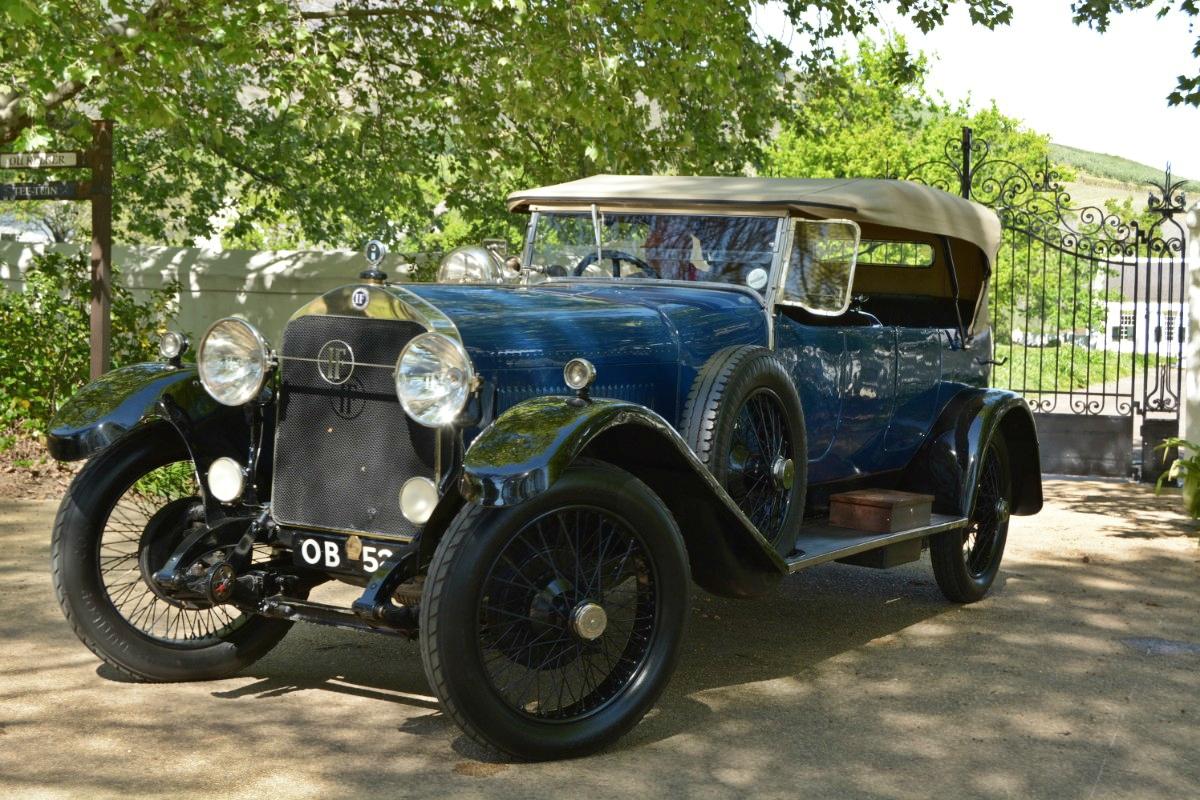 1922 Isotta Fraschini Tipo 8 5