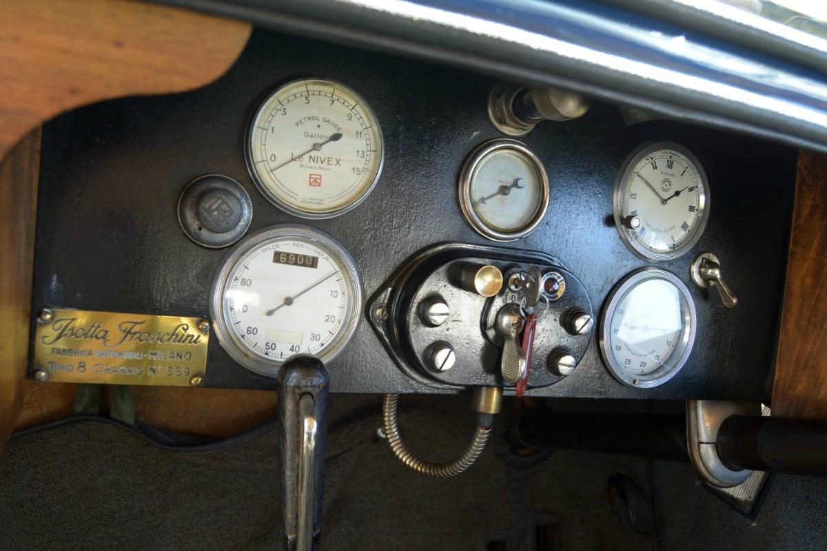1922 Isotta Fraschini Tipo 8 9