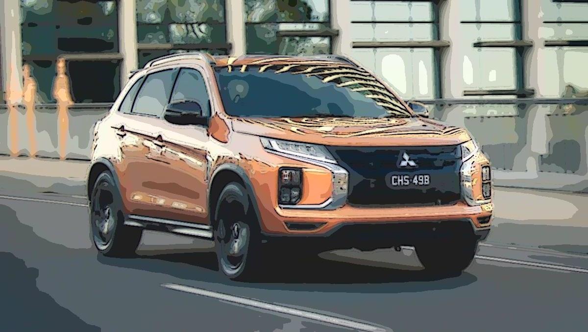 Mitsubishi ASX: Orangish and sunshine